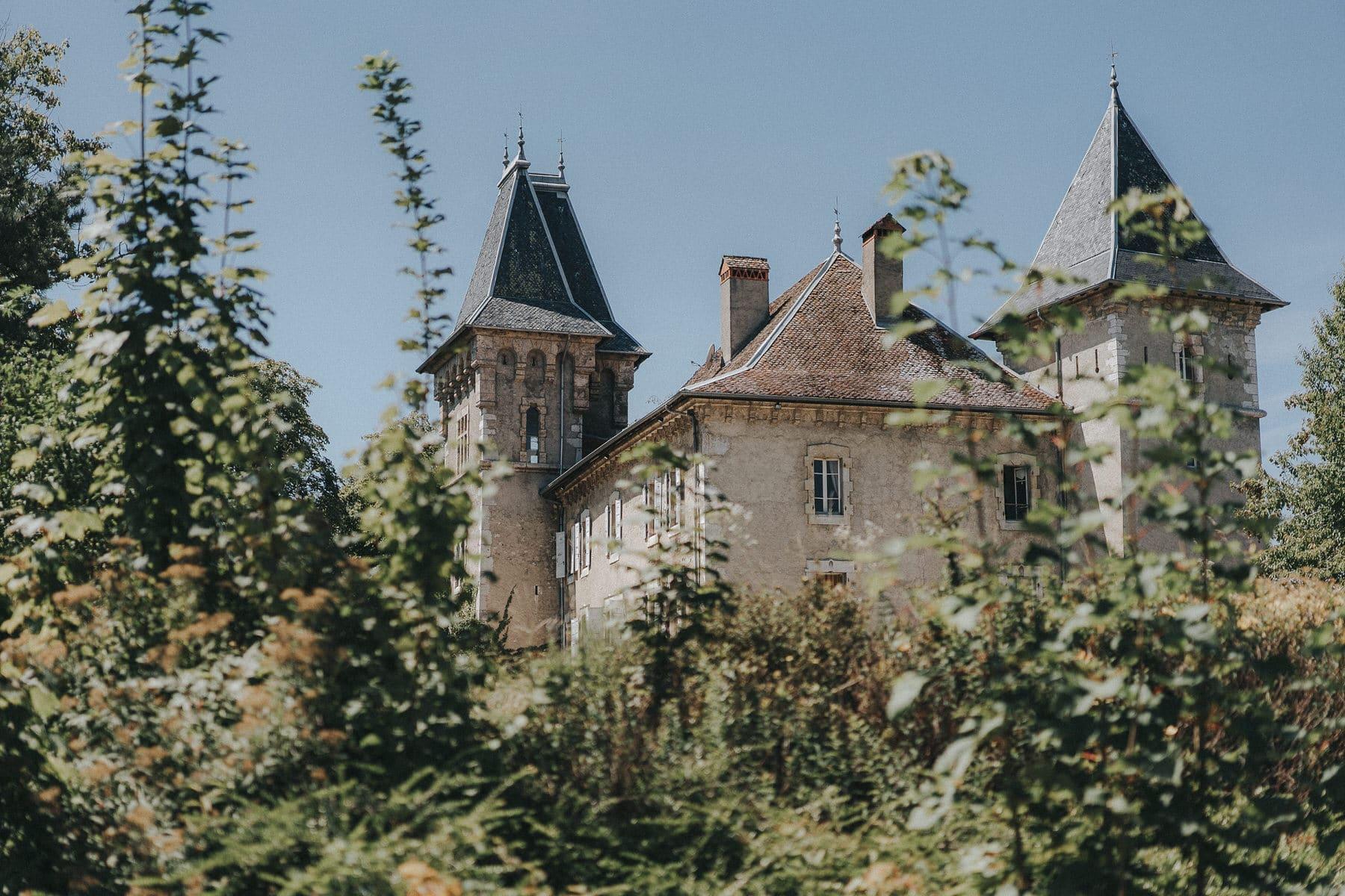 Photographe Mariage Annecy Chateau Saint-sixt