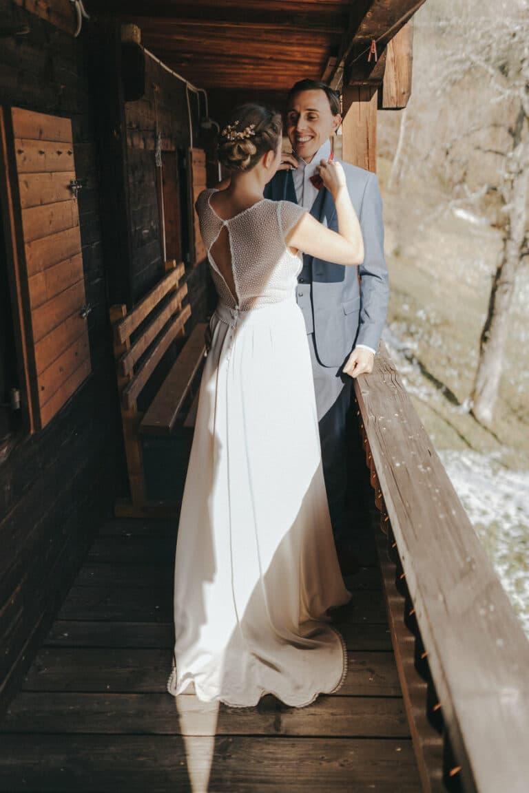 Mariage montagne la clusaz annecy